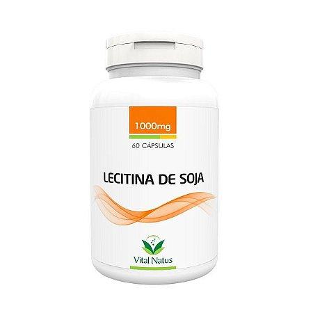 Lecitina de Soja - 60 Cápsulas (1000mg) - Vital Natus