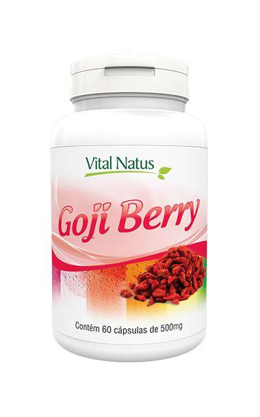 Goji Berry - 60 Cápsulas (500mg) - Vital Natus