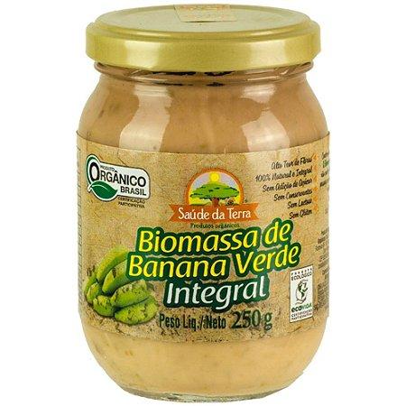 Biomassa de Banana Verde (Integral) 250g - Saúde da Terra