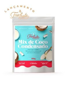 Mix de Coco Condensado (Vegano) 150g - Fru-Fruta