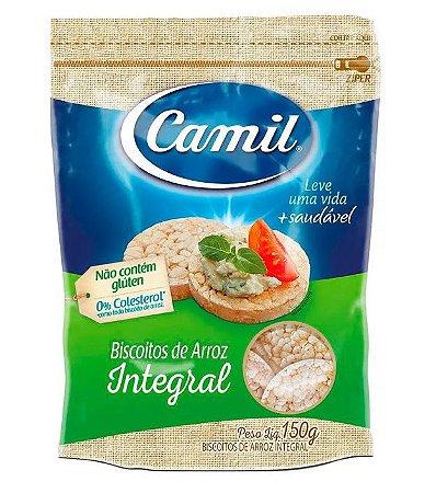 Biscoito de Arroz Integral Camil - 150g