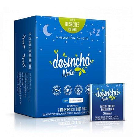 Desinchá Noite c/ 60 sachês- Chá Relaxante Para Dormir