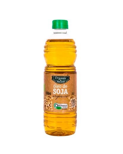 Óleo de Soja Orgânico - 500ml - Organic