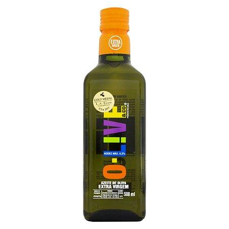 Azeite de Oliva Extra Virgem 0,2% Chileno - 500ml - OLIVE