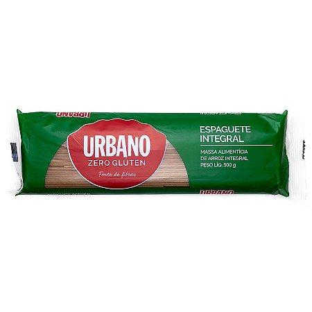 Macarrão Sem Glúten Integral Espaguete - 500g - Urbano