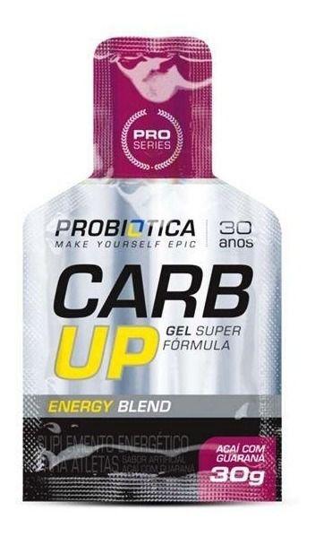 Carb Up Gel Blend Açaí com Guaraná - 30g - Probiotica