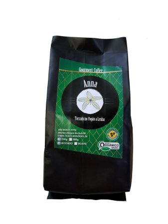 Café em Pó Orgânico - 250g - Gourmet Coffee Anna