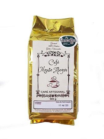 Café em Pó Artesanal - 500g - Café Monte Alegre