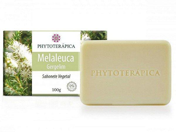 Sabonete Vegetal Melaleuca e Gergelim  - 100g - Phytoterápica