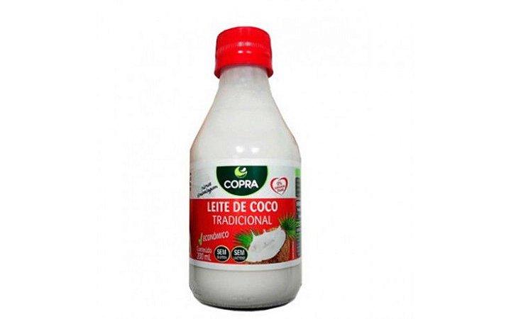 Leite de Coco Tradicional - 200ml - Copra