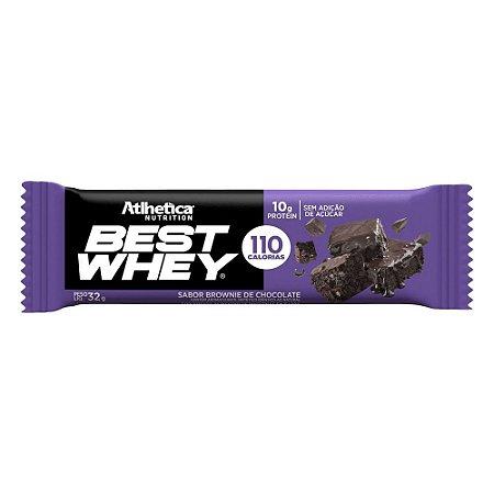 Best Whey Sabor Brownie de Chocolate - 32g - Atlhentica Nutrition