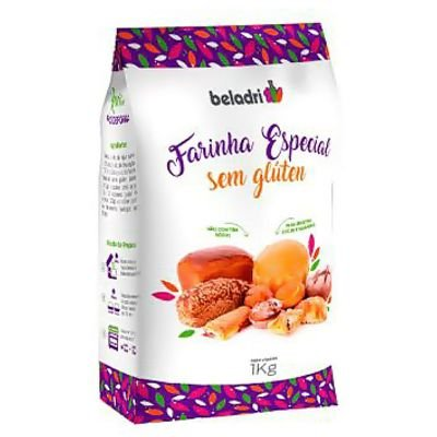 Farinha Especial Sem Glúten - 1kg - Beladri