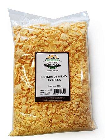 Farinha de Milho Amarela - 500g