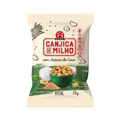 Canjica de Milho Com Açúcar de Coco - 50g - Okoshi