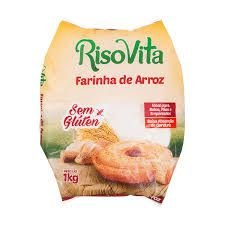 Farinha de Arroz Sem Glúten - 1kg - Risovita
