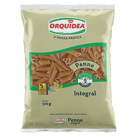 Macarrão Integral Penne - 500g - Orquidea