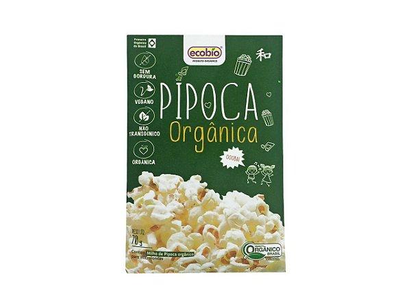 Milho de Pipoca Orgânica para Micro-ondas - 70g - Ecobio