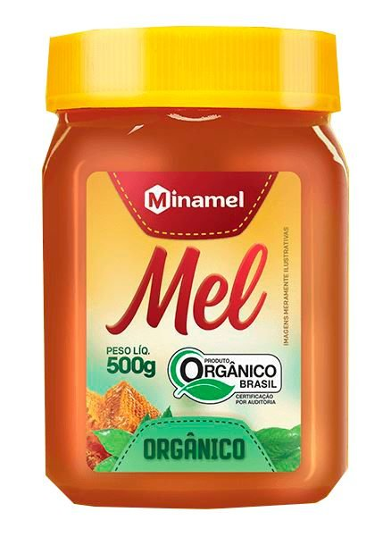 Mel Orgânico - 500ml - Minamel
