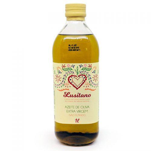 Azeite de Oliva Extra Virgem Não Filtrado - 500ml - Lusitano