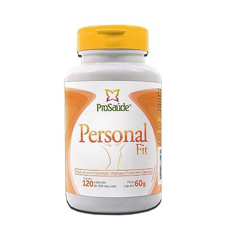 Personal Fit Psyllium com Hortaliças, Vegetais e Frutas - 120 Cápsulas (500mg) - ProSaúde