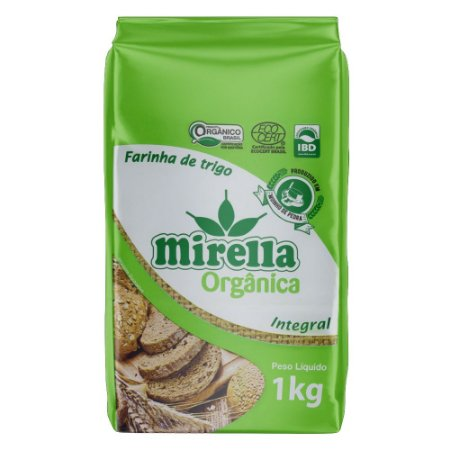 Farinha Integral Orgânica - 1kg - Mirella