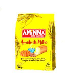 Amido de Milho Sem Glúten - 300g - Aminna