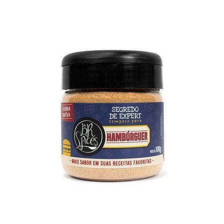 Segredo de Expert Tempero Para Hambúrguer - 100g - BR Spice