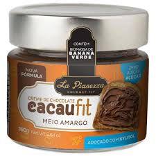 Creme de Chocolate Cacaufit Meio Amargo - 160g - La Pianezza