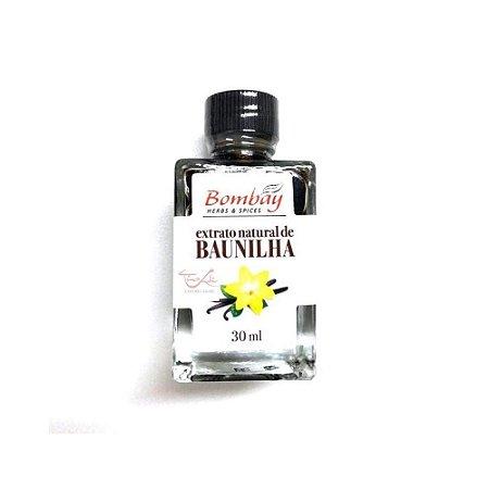 Extrato Natural de Baunilha - 30 ml - Bombay