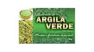Sabonete de Argila Verde Antisséptico - 90g - Bionature