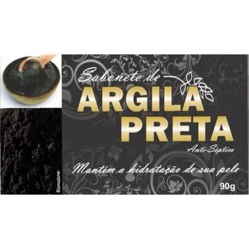 Sabonete de Argila Preta Antisséptico - 90g - Bionature