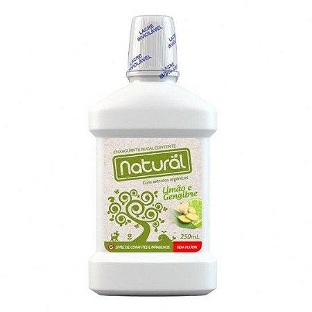Enxaguante Bucal Com extratos de Limão e Gengibre - 150ml - Orgânico Natural