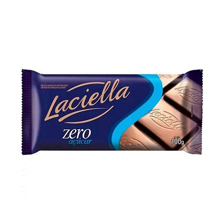Chocolate ao Leite Zero Açúcar - 100g - Laciella