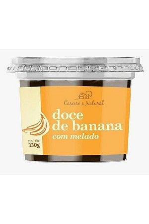 Doce de Banana Com Melado - 330g - Caseiro e Natural
