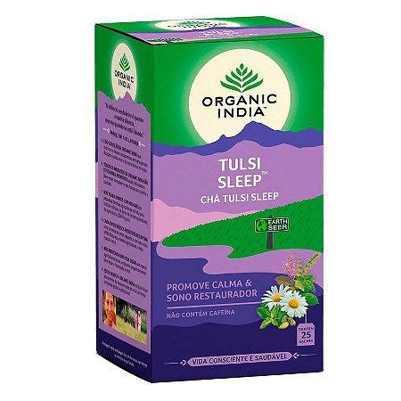 Chá Tulsi, Camomila, Cardamomo e Hortela-Pimenta - 25 Sachês - Organic India