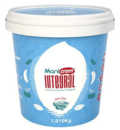 Pasta de Amendoim Integral Mani Crem - 1,010Kg