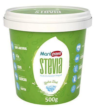 Pasta de Amendoim Mani Crem Stevia- 500g