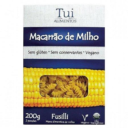 Massa de Macarrão de Milho Fusilli - 200g - Tui Alimentos