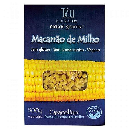 Massa de Macarrão de Milho Caracolino - 200g - Tui Alimentos