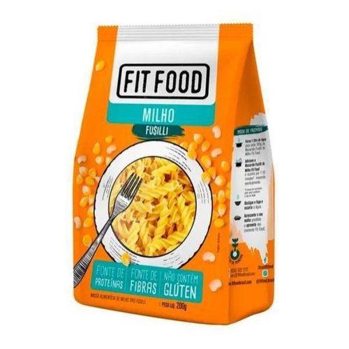 Massa de Macarrão de Milho Fusilli - 200g - Fit Food
