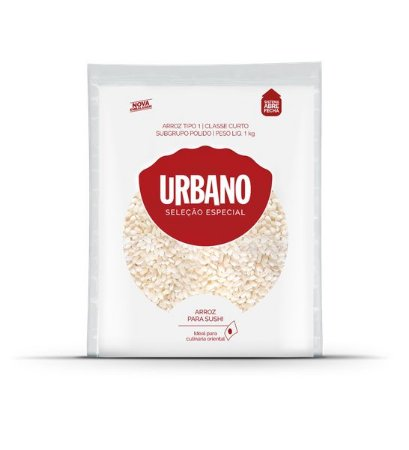 Arroz Para Sushi - Tipo 1 - 1kg - Urbano