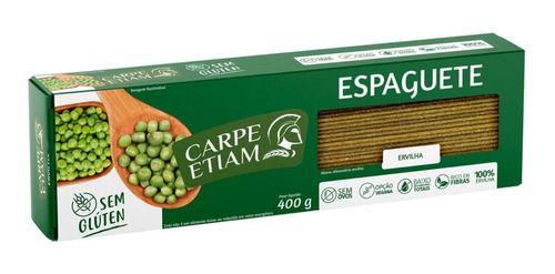 Macarrão de Ervilha Espaguete - 400g - Carpe Etiam