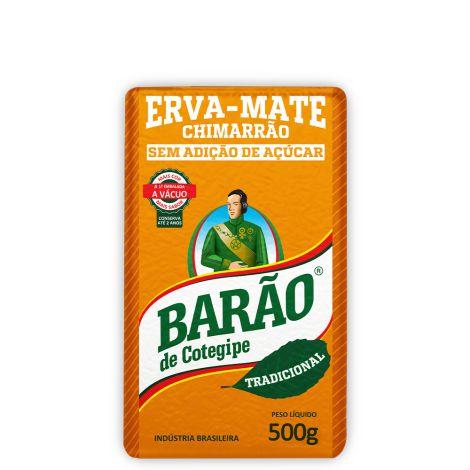 Erva Mate Chimarrão - 500g - Barão de Contegipe