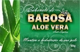 Sabonete de Babosa (Aloe Vera) Antisséptico - 90g - Bionature