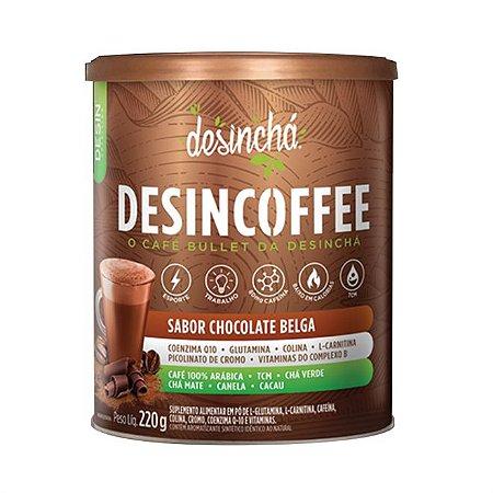 Desincoffee Sabor Chocolate Belga - 220g - Desinchá