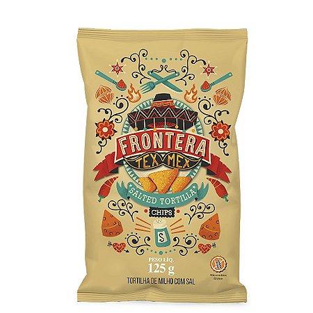 Tortilha de Milho com Sal - 125g - Frontera