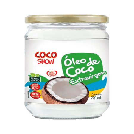 Óleo de Coco Extravirgem - 200ml - Coco Show