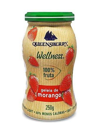 Geleia de Morango (Zero Açúcar) - 250g - Queensberry