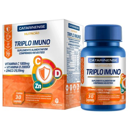 Triplo Imuno - 30 Comprimidos - Catarinense