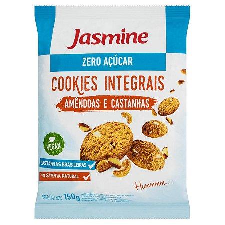 Cookies Integrais Amêndoas e Castanhas - 150g - Jasmine